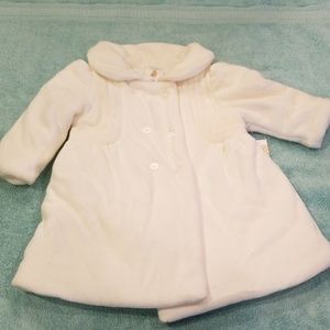 Starting Out | Ivory Plush Winter Coat
